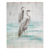 Sea Bird Wood Wall Decor