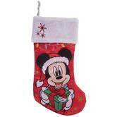 Mickey Mouse Satin Stocking