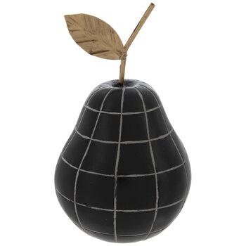 Black Checkered Pear