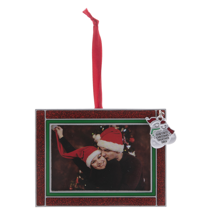 First Christmas Together 2020 Ornament Photo Frame First Christmas Together 2020 Frame Ornament | Hobby Lobby