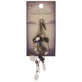 Pearl & Stone Rope Drop Pendant