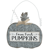 Farm Fresh Pumpkins Ornament