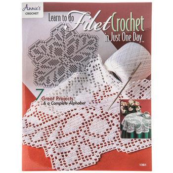 Learn Filet Crochet In Just One Day