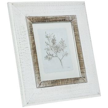 Gray Branch Framed Wall Decor