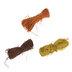 Brown, Orange & Yellow Raffia