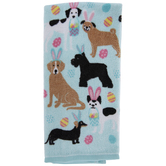 Easter Dogs Kitchen Towel