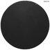 Black Round Metal Wall Mirror - Large