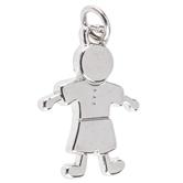 Boy Figure Charm