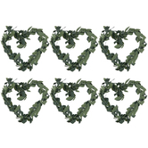 Green Vine Hearts