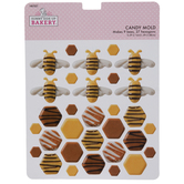 Bees & Honeycombs Candy Mold