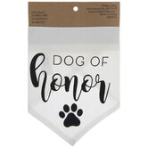 Dog Of Honor Pet Scarf