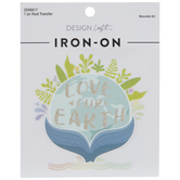 Love Our Earth Iron-On Applique