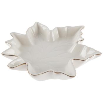 White Leaf Bowl