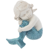 Sitting Child Mermaid