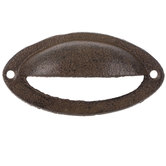 Brown Cup Metal Pull