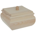 Square Wood Box With Lid