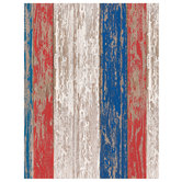 "Patriotic Wood Grain Scrapbook Paper - 8 1/2"" x 11"""