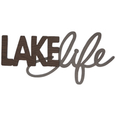 Lake Life Wood Wall Decor