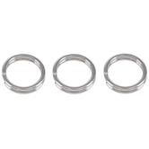 Stainless Steel Split Rings - 6mm