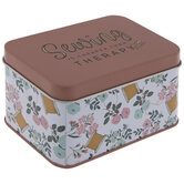 Sewing Is Cheaper Than Therapy Tin Box