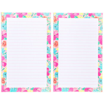 Marble Floral Notepads