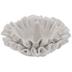 White Frilled Jewelry Dish