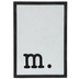 Lowercase Letter Wood Wall Decor - M