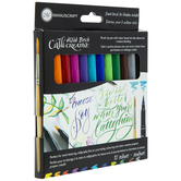 Callicreative Aqua Brush Markers - 12 Piece Set
