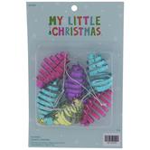 Metallic Swirl Jingle Bell Ornaments