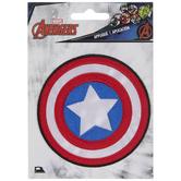 Captain America Shield Iron-On Applique