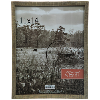 "Barnwood Wall Frame - 11"" x 14"""