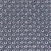 Gray & Pink Floral Cotton Calico Fabric