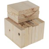 Wood Economy Bag
