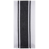 White & Black Classic Striped Kitchen Towel