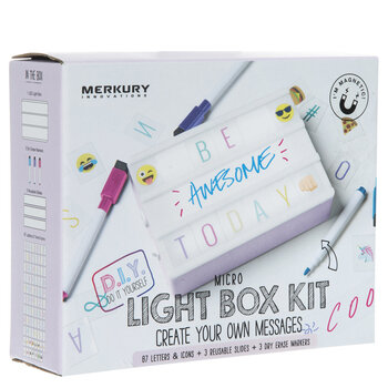 Lilac Light Up Mini Marquee Kit