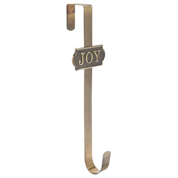 Joy Metal Wreath Hanger