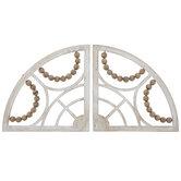 Whitewash Arches Wood Wall Decor Set