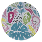 Pastel Tropical Paper Plates