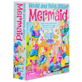 Mould & Paint Glitter Mermaids Kit