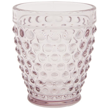 Pink Hobnail Cup
