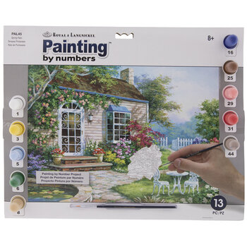 Spring Patio Paint By Number Kit