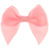 Mini Light Pink Grosgrain Ribbon Bows