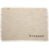 Blessed Fringe Placemat
