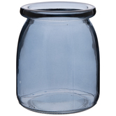 Blue Mini Glass Vase