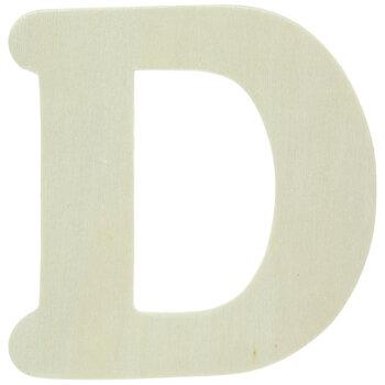 """Wood Letters D - 4"""""""