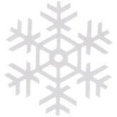 Glitter Snowflake Cutouts
