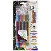Krazy Pop Iridescent Metallic Gel Pens - 4 Piece Set