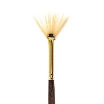 Synthetic Hog Bristle Fan Paint Brush