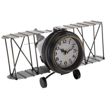 Airplane Metal Clock