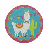 Llama Paper Plates - Small